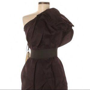 Lanvin Purple Dress - One Shoulder